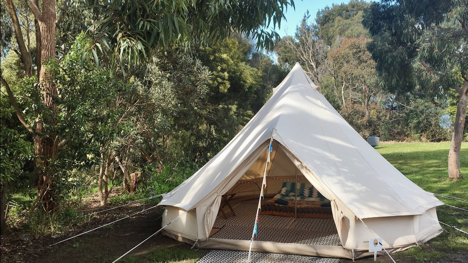 Happy Glamper four metre bell tent