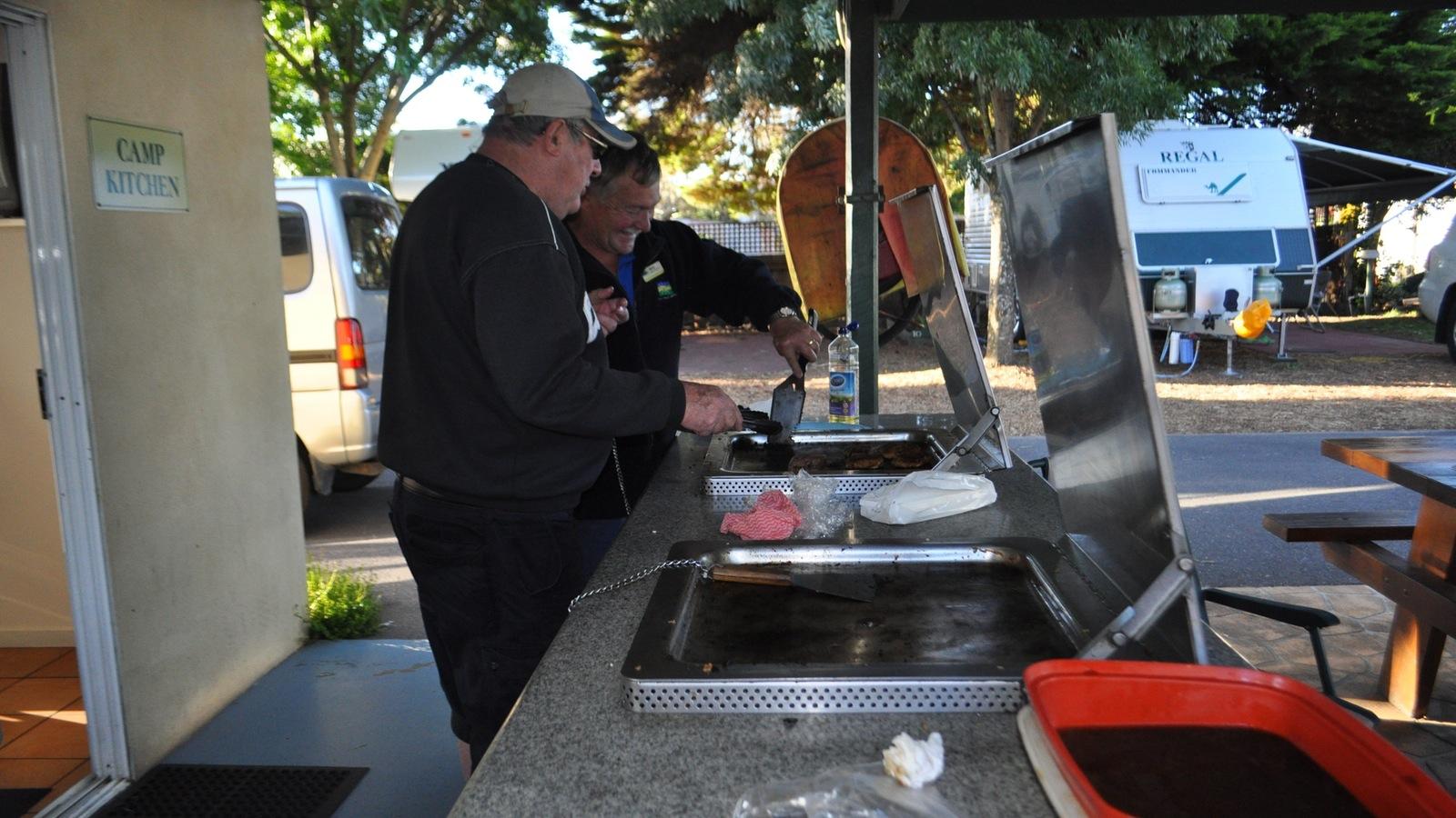 BBQs at Camp Kitchen