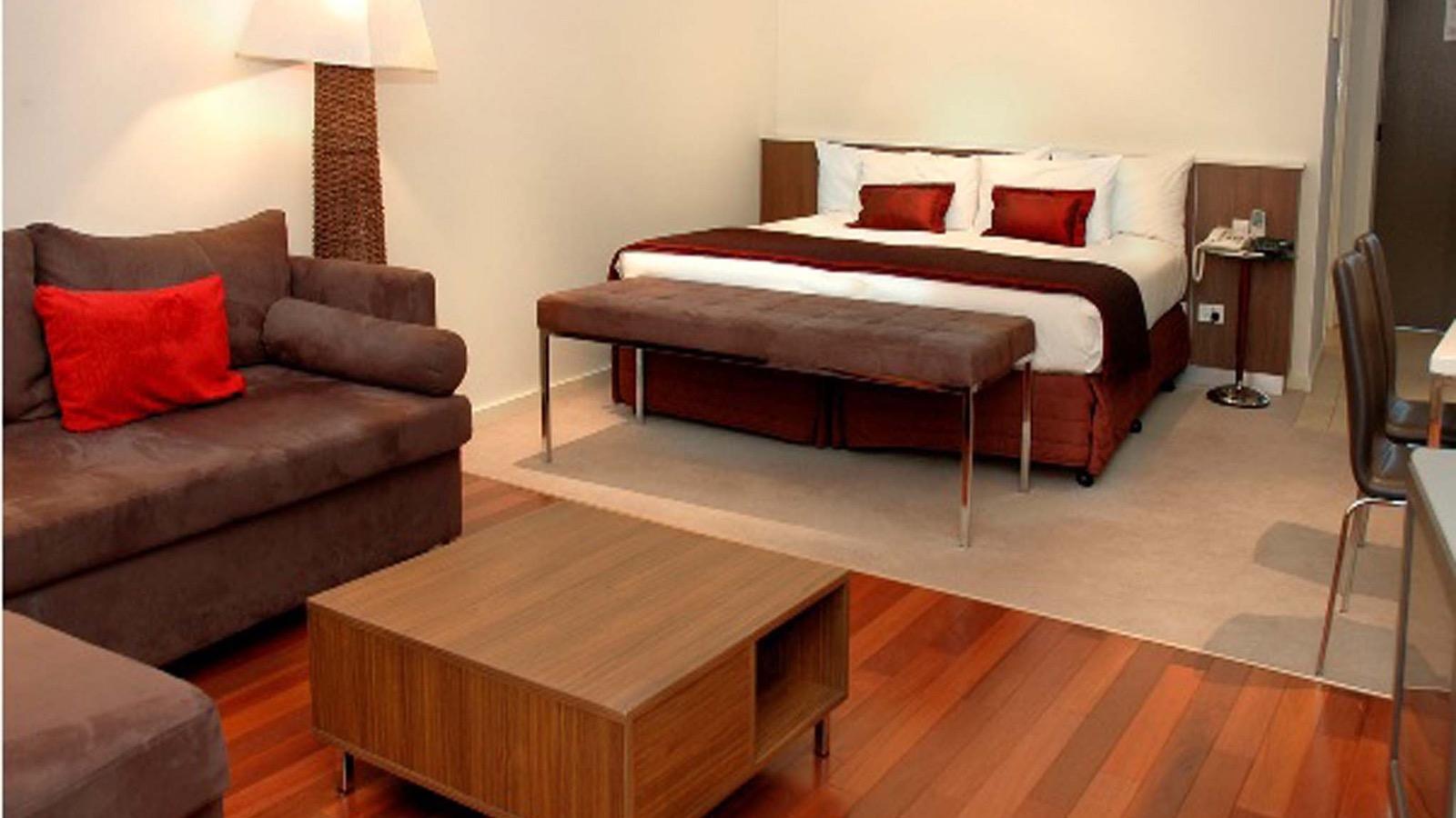 Enjoy the luxury king spa suite