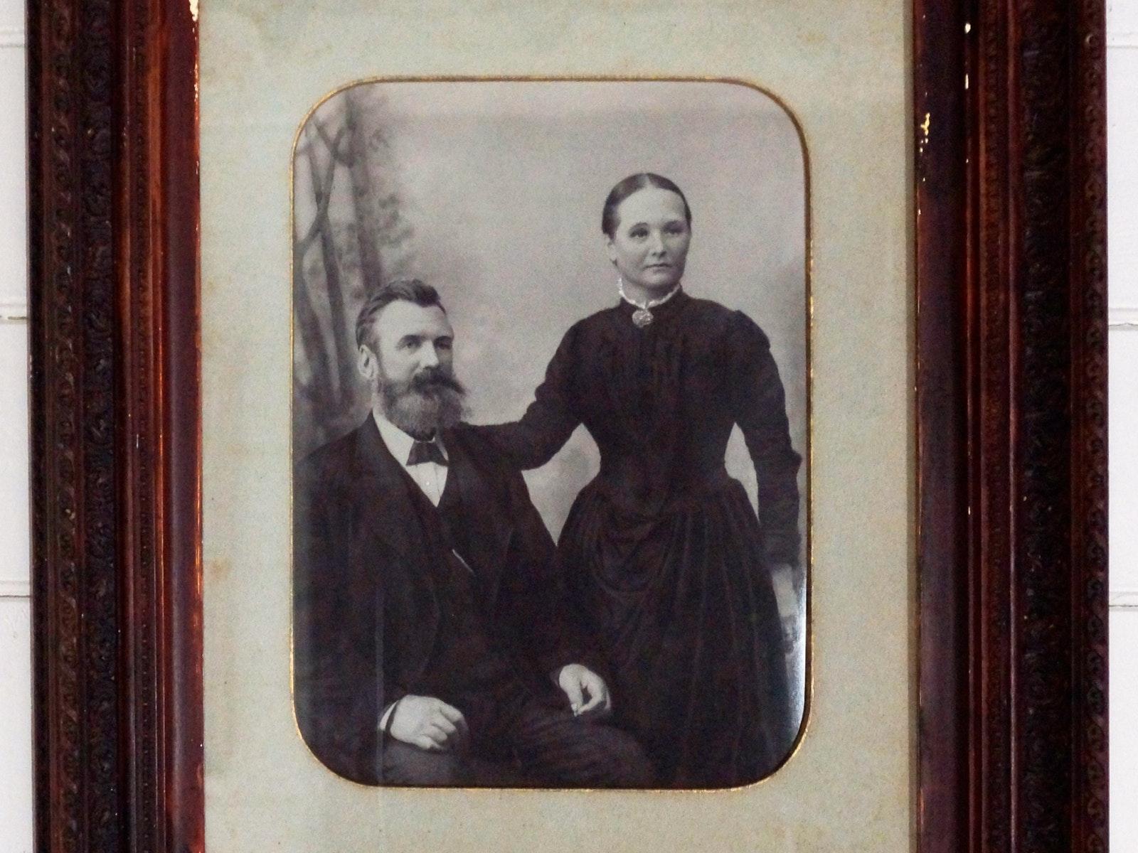 Portrait of John and Jenny Watts