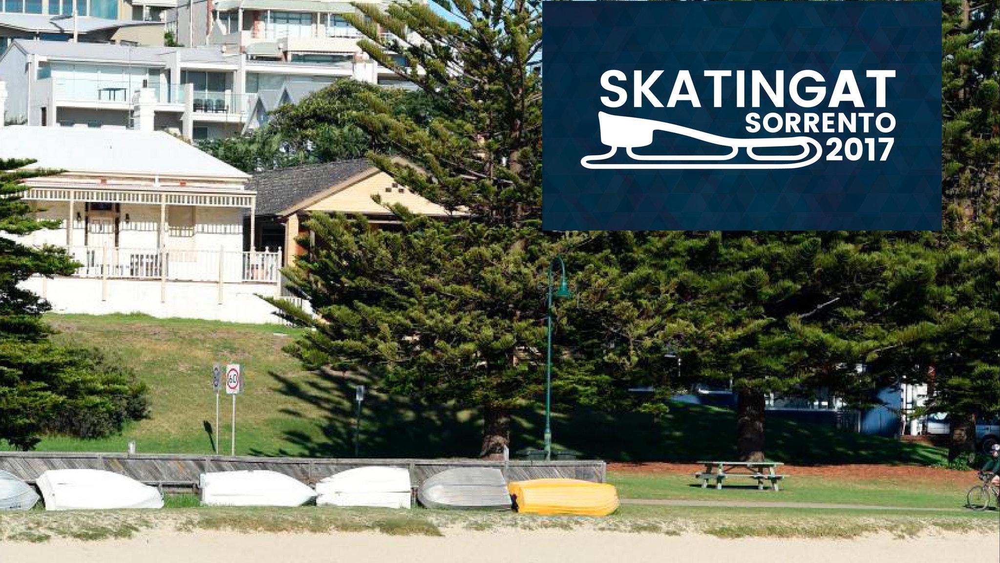 Skating at Sorrento foreshore