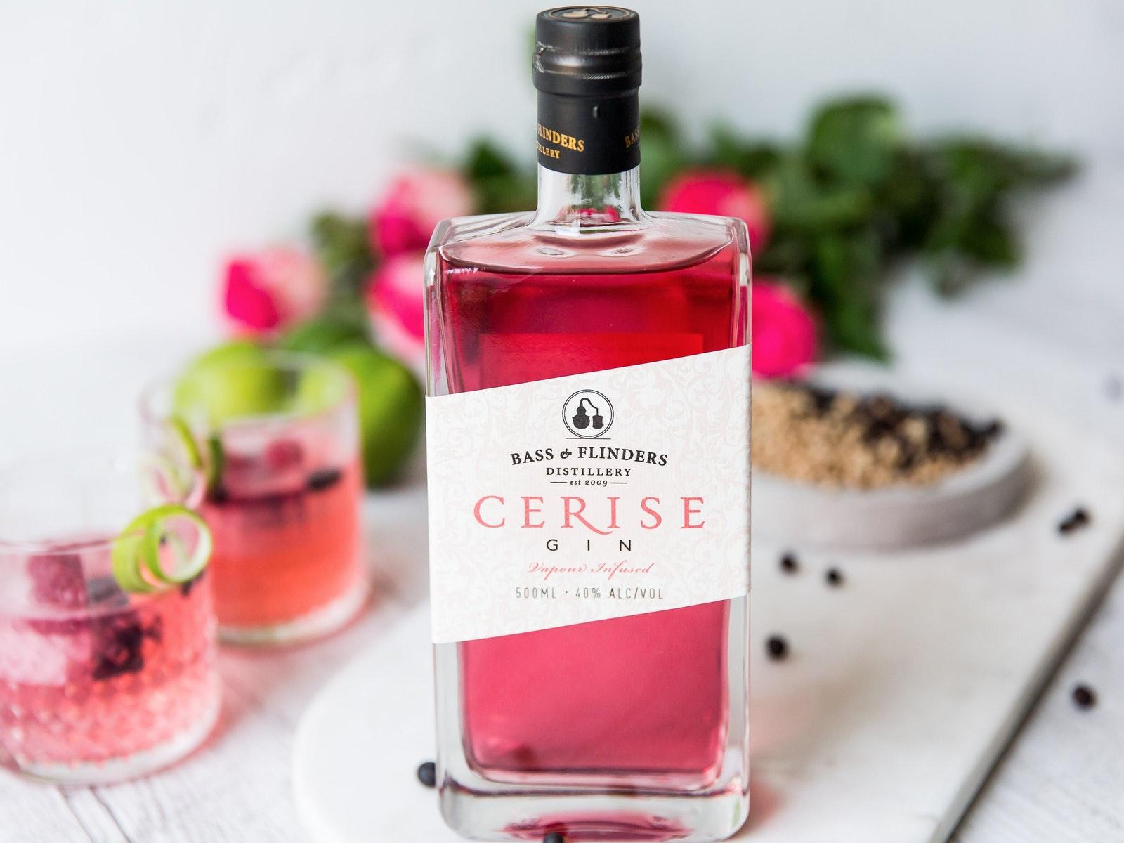 Pretty in pink Cerise Gin