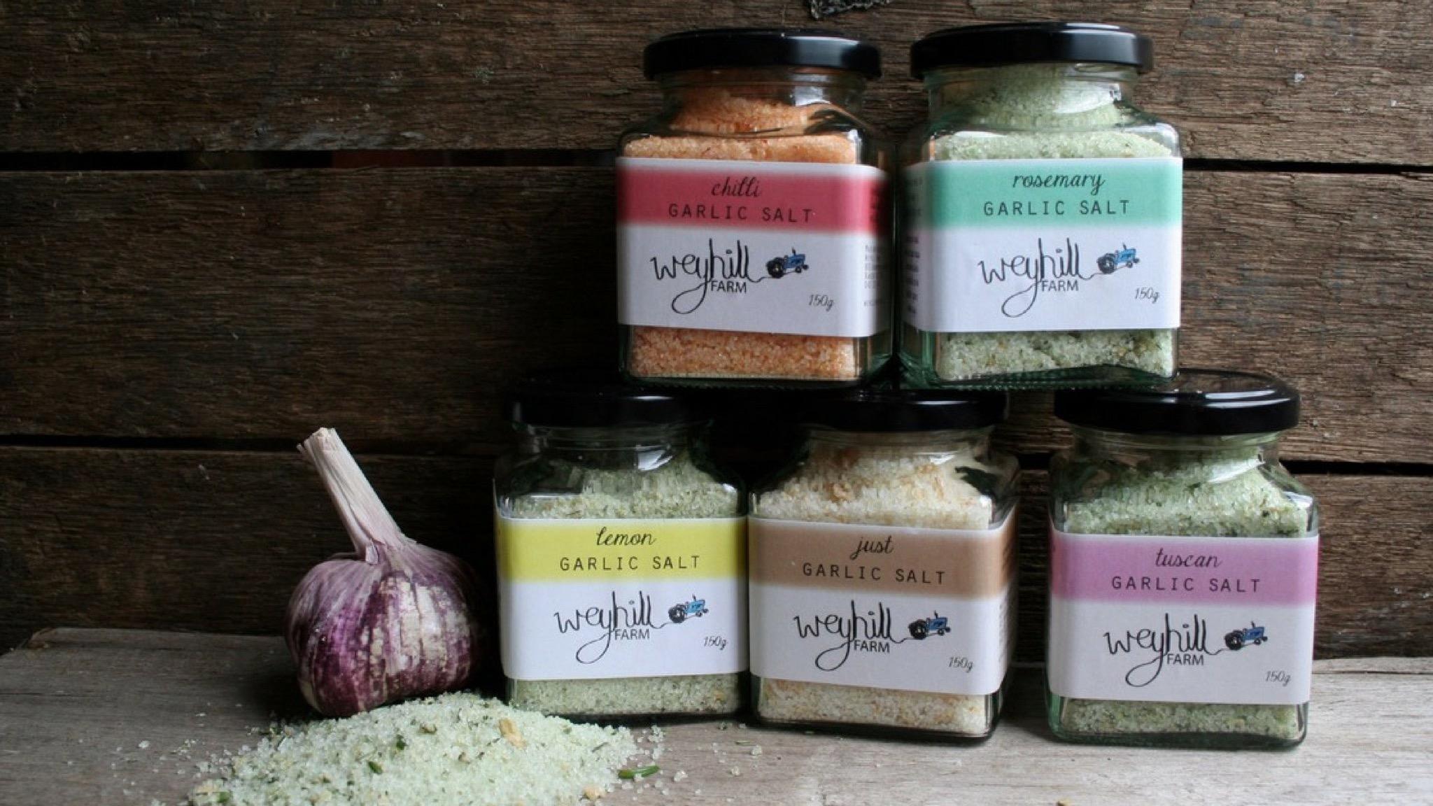 Weyhill Farm Garlic