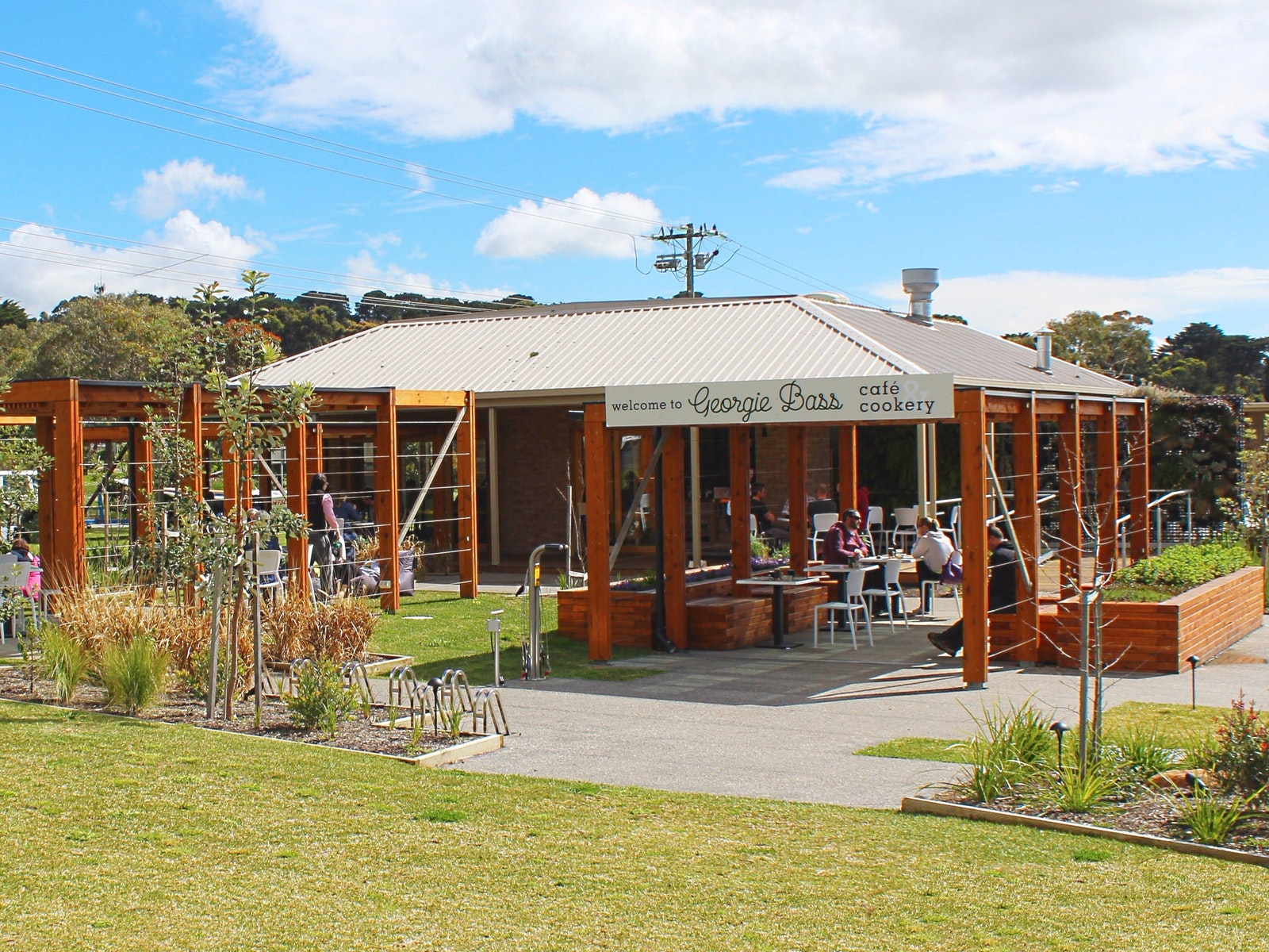 Georgie Bass Cafe & Cookery, Flinders