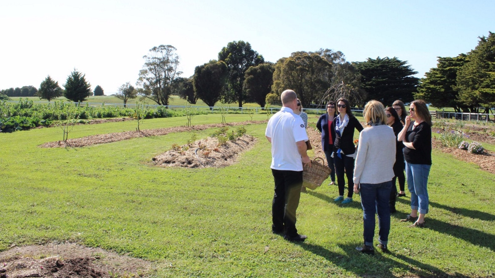 Visits to Mornington Park, our very own produce farm