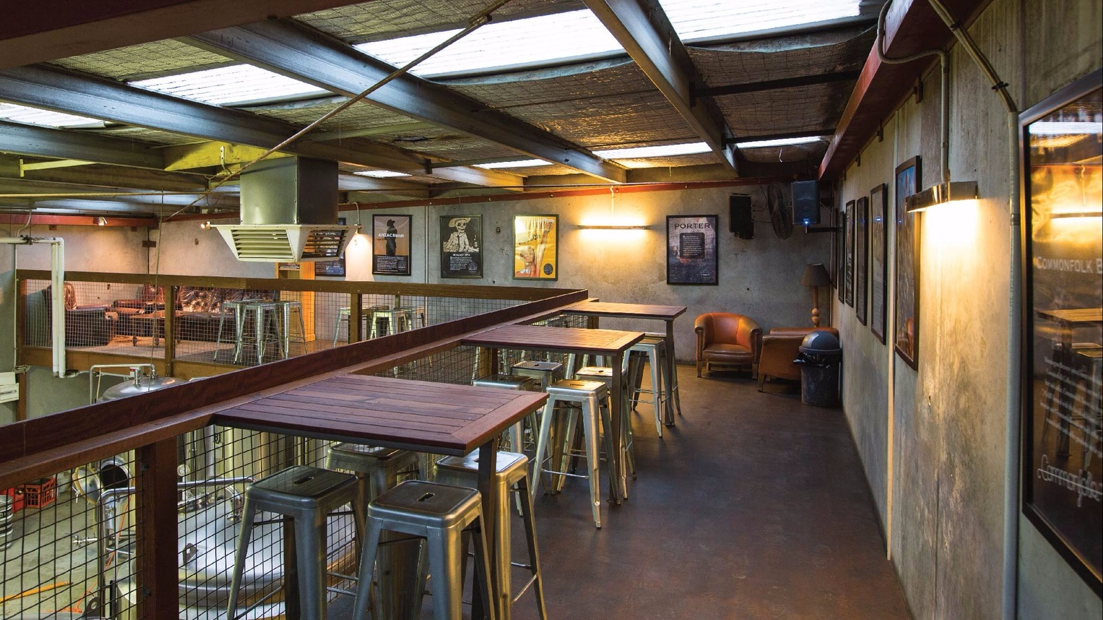 mornington peninsula brewery mezzanine