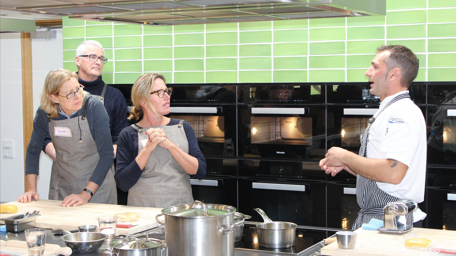 Award winning chefs offering a variety of classes