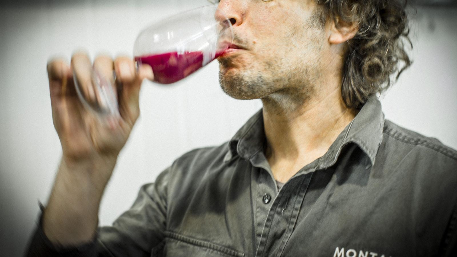 Montalto winemaker Simon Black