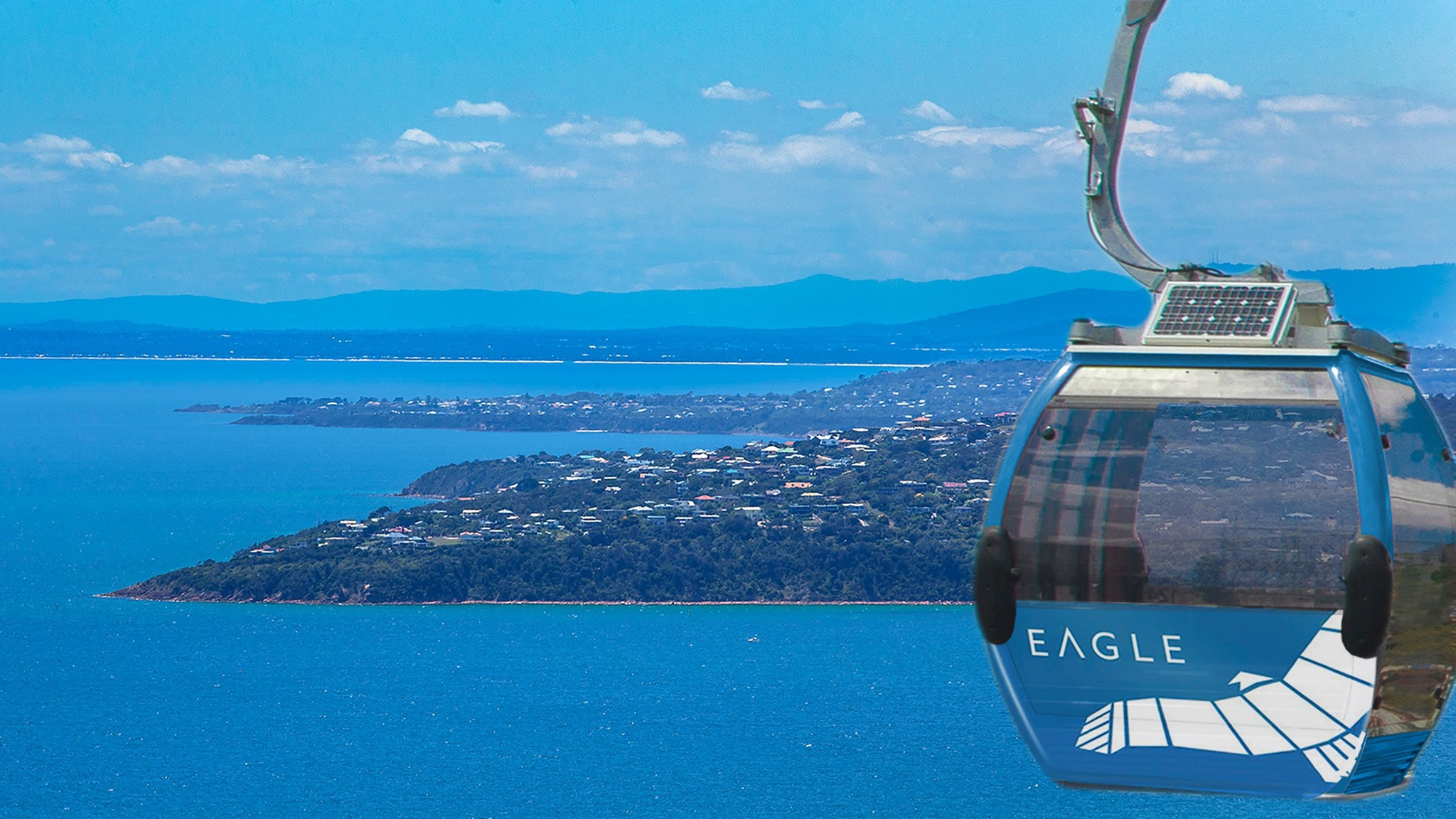Soar through the sky on a gondola at Arthurs Seat