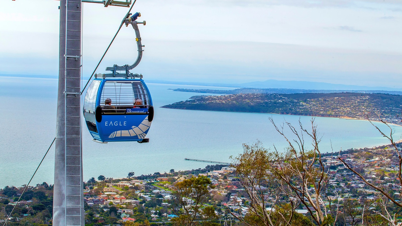 Gondola journey at Arthurs Seat