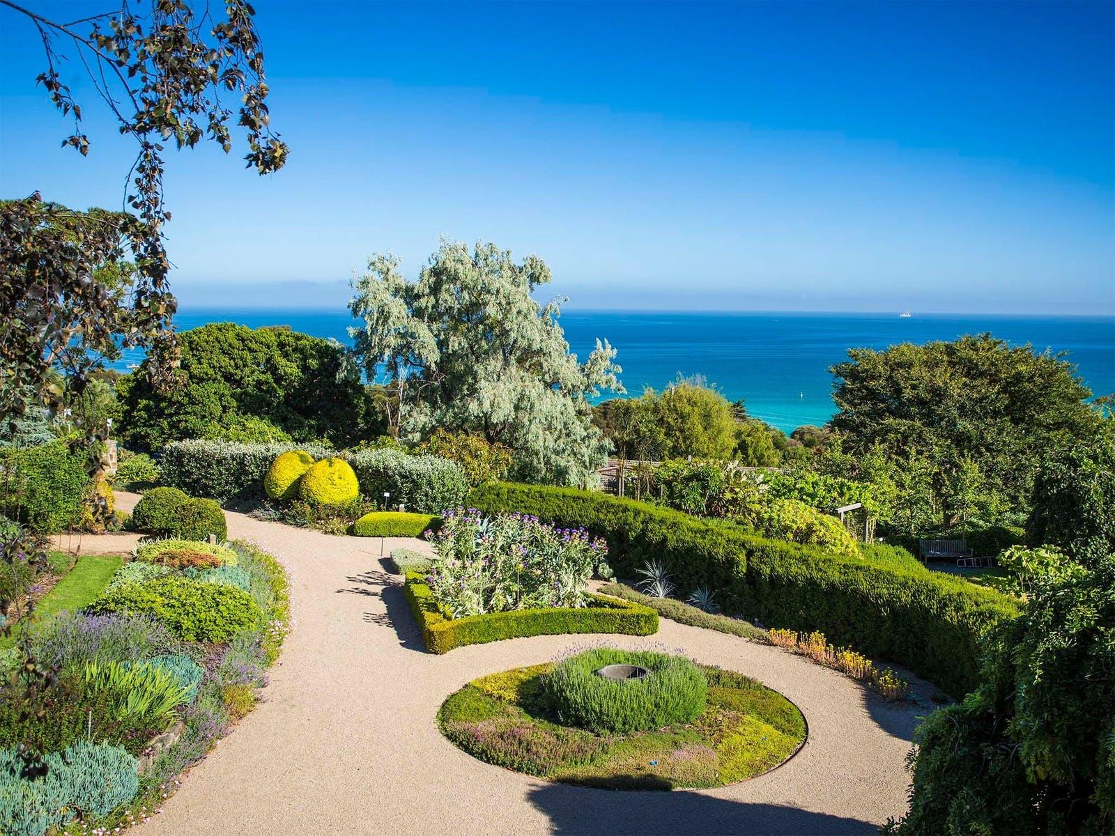Heronswood's Gardens Stunning Vista
