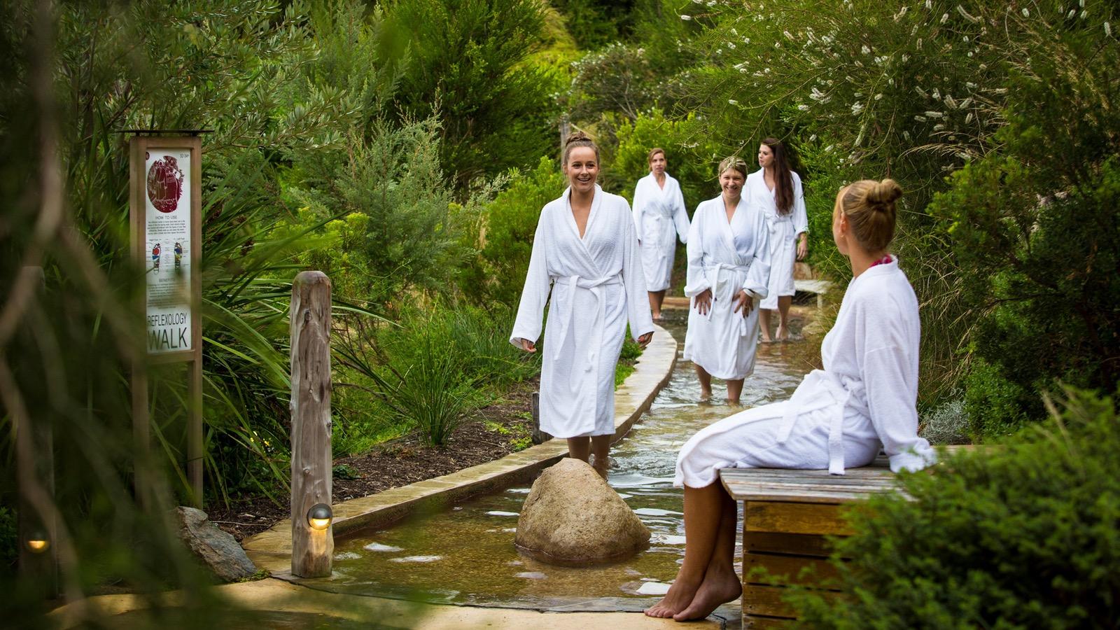 Bath House - Reflexology walk