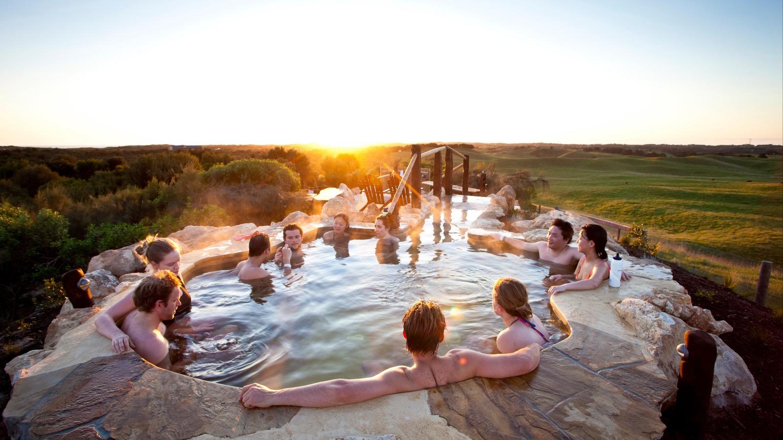 Bath House - hill top experience