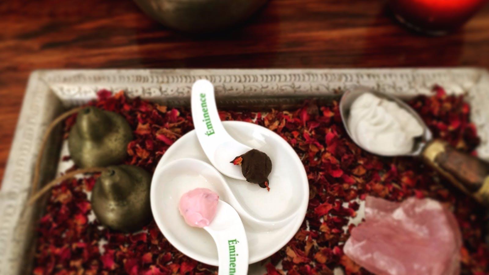 Finest Organic Products used - Eminence Organics