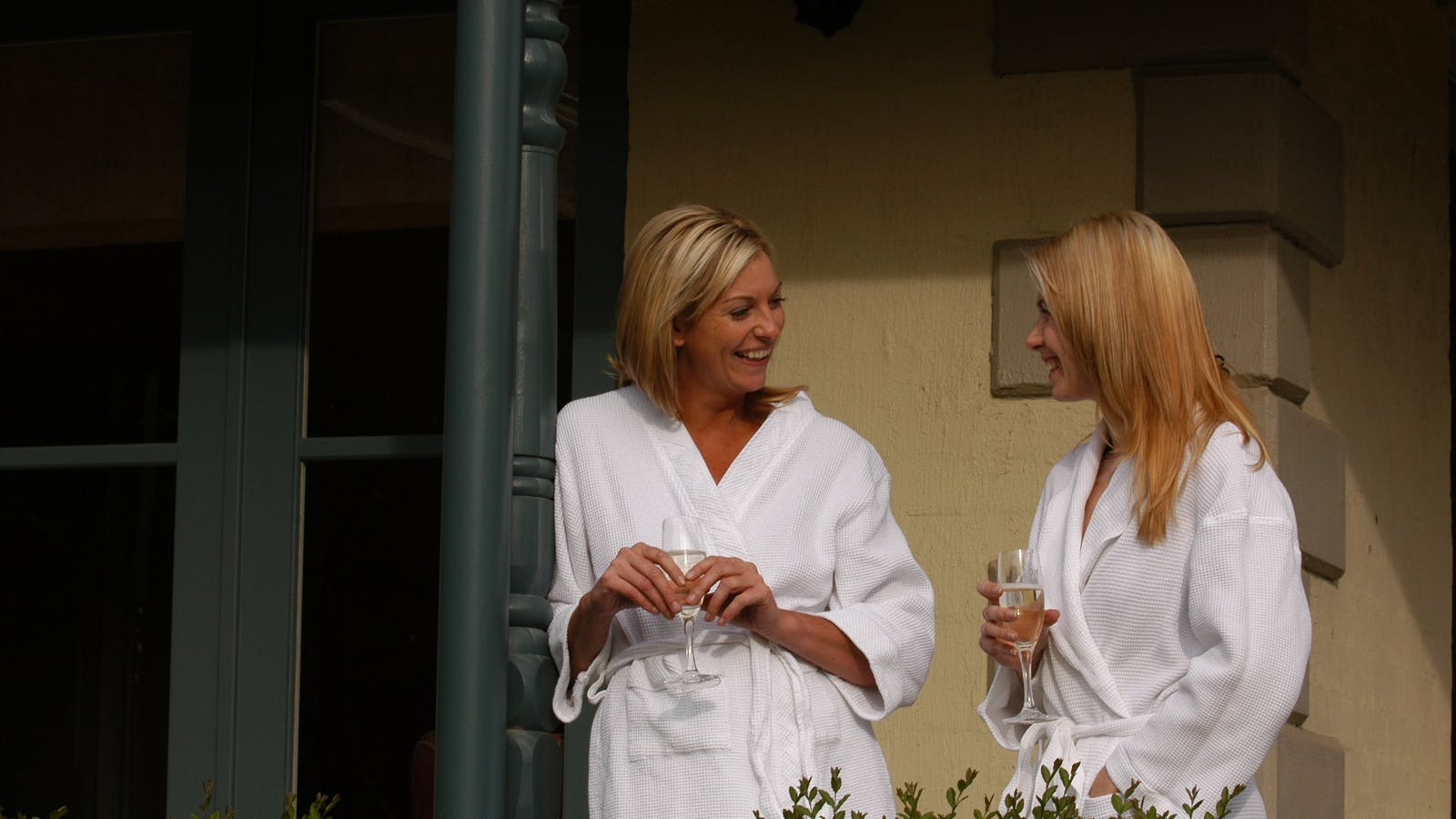 Two Ladies at Wellness Retreat