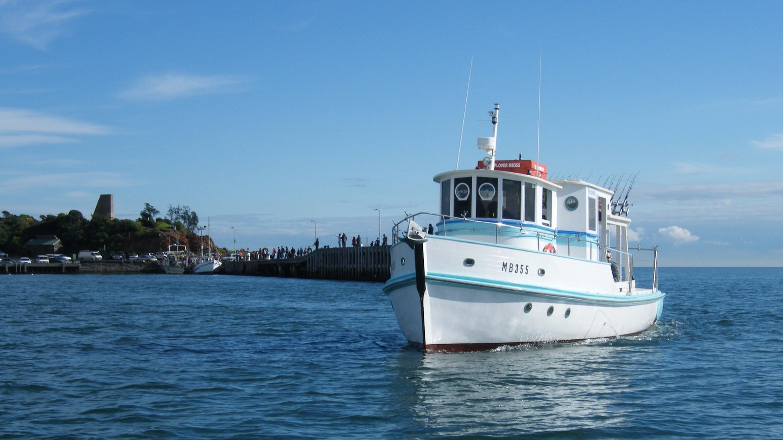 The perfect platform for fishing or cruising.
