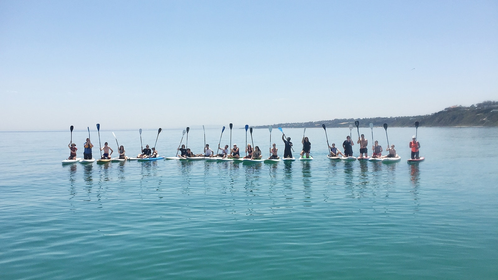 Large Group SUP Lesson