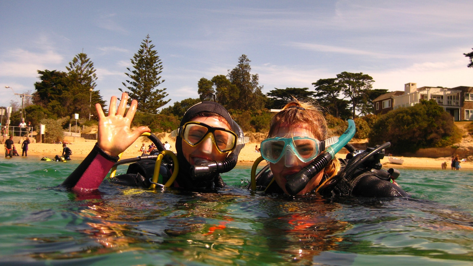Guided Dives at the Fab 4