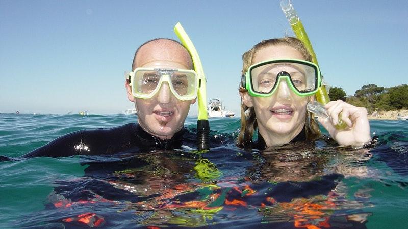 Happy Snorkellers