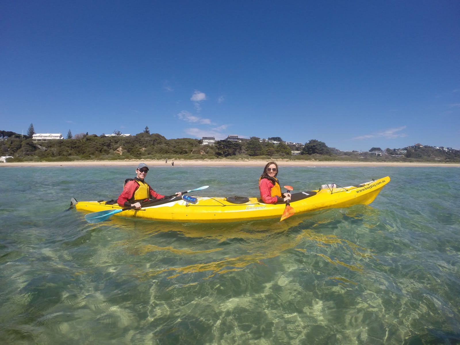 Kayak the Mornington Peninsula Coastline