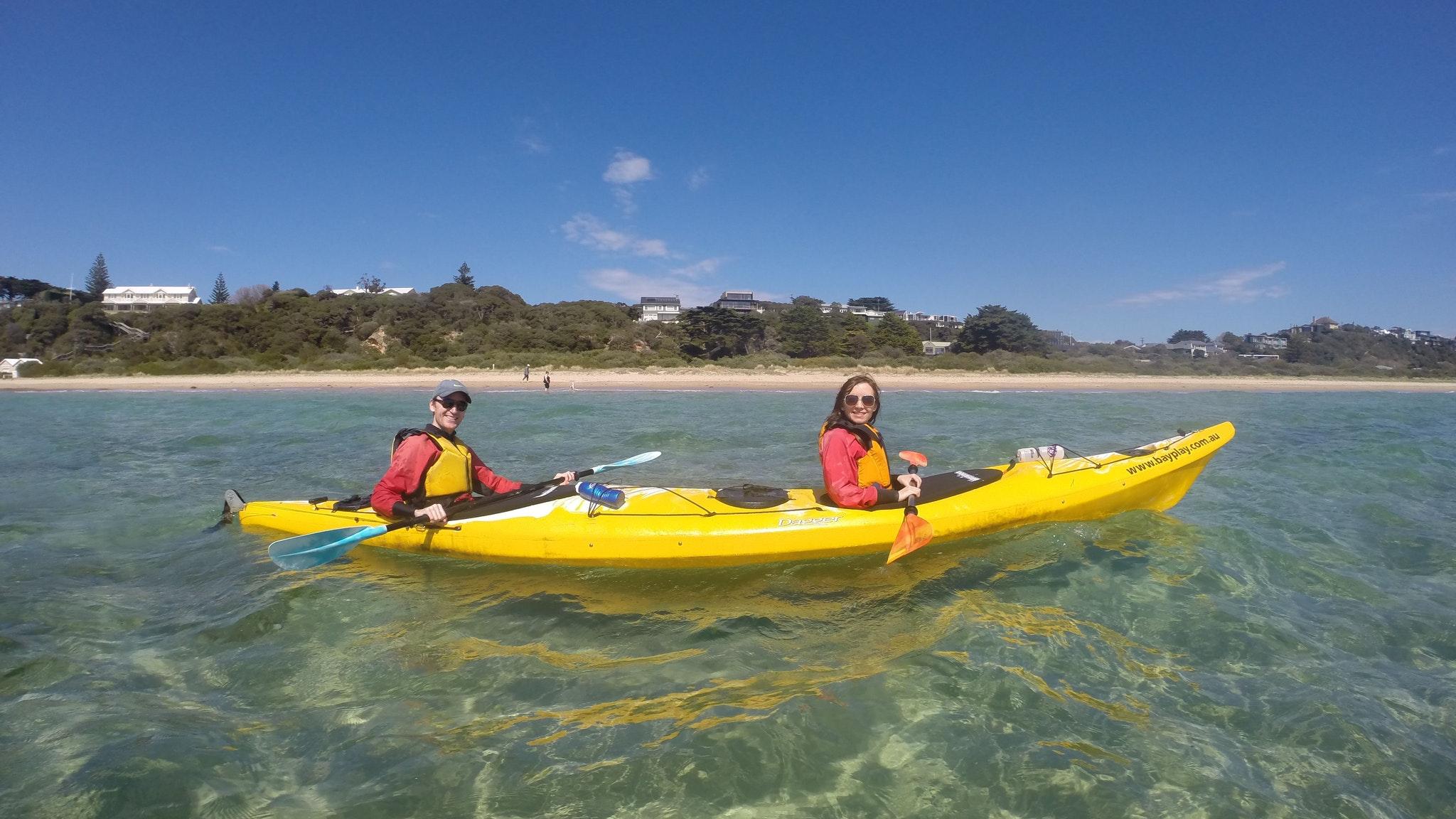 Kayak the Mornington Peninsula Coastline