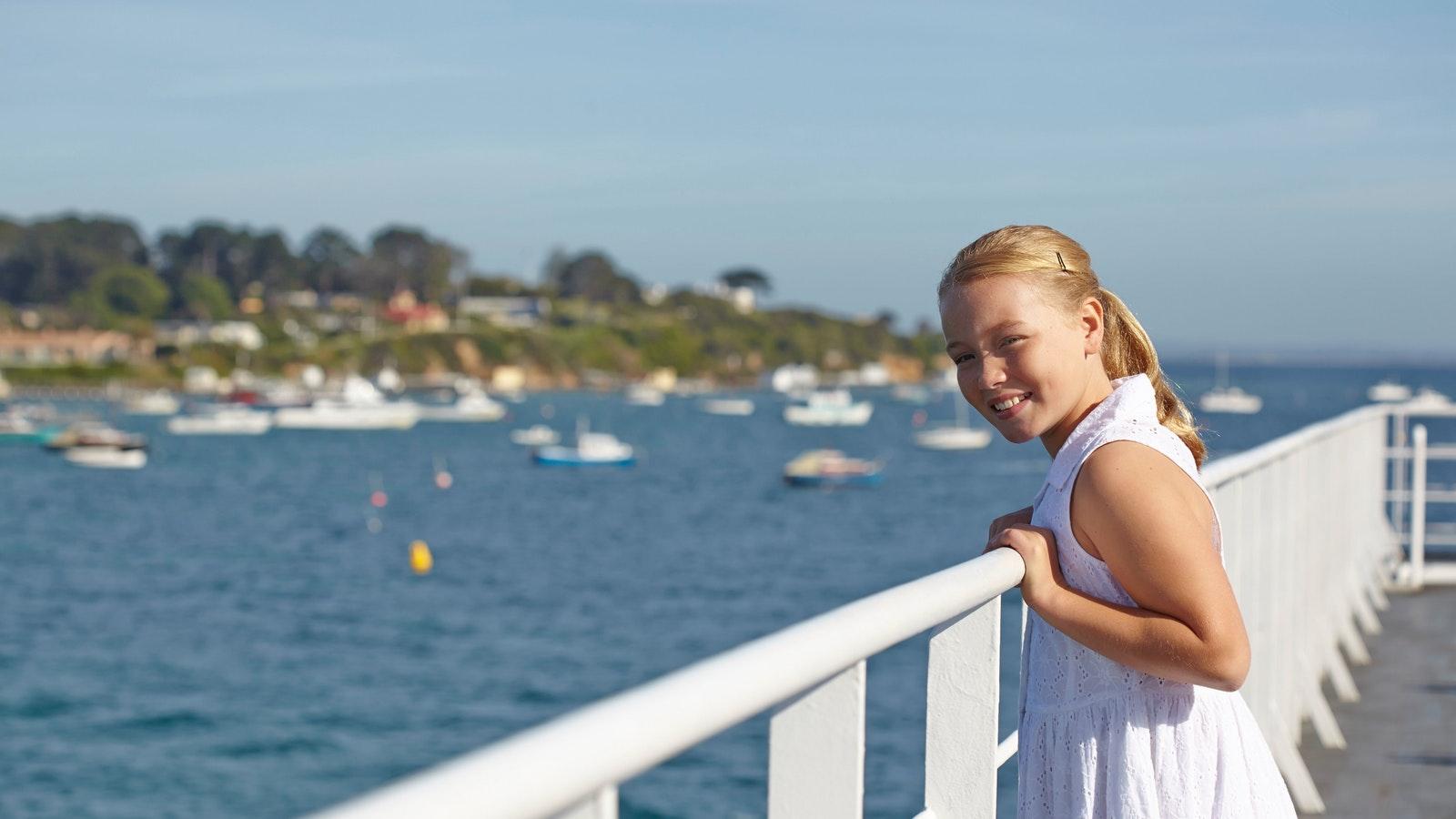 Coastal views aboard Searoad Ferries
