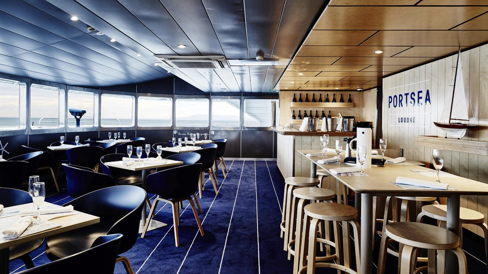 Portsea Lounge aboard Searoad Ferries