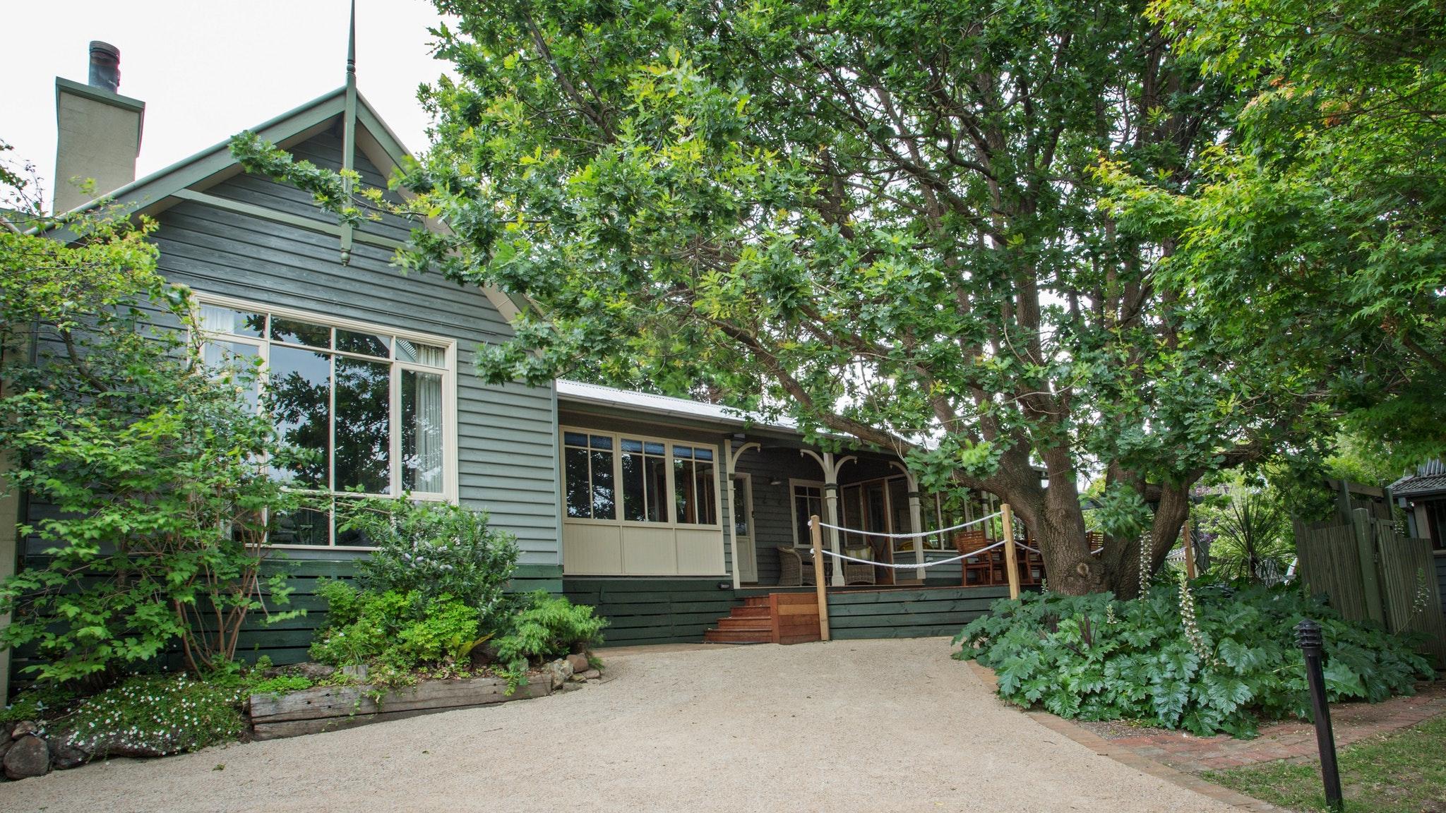 Outside Oak Tree Lodge