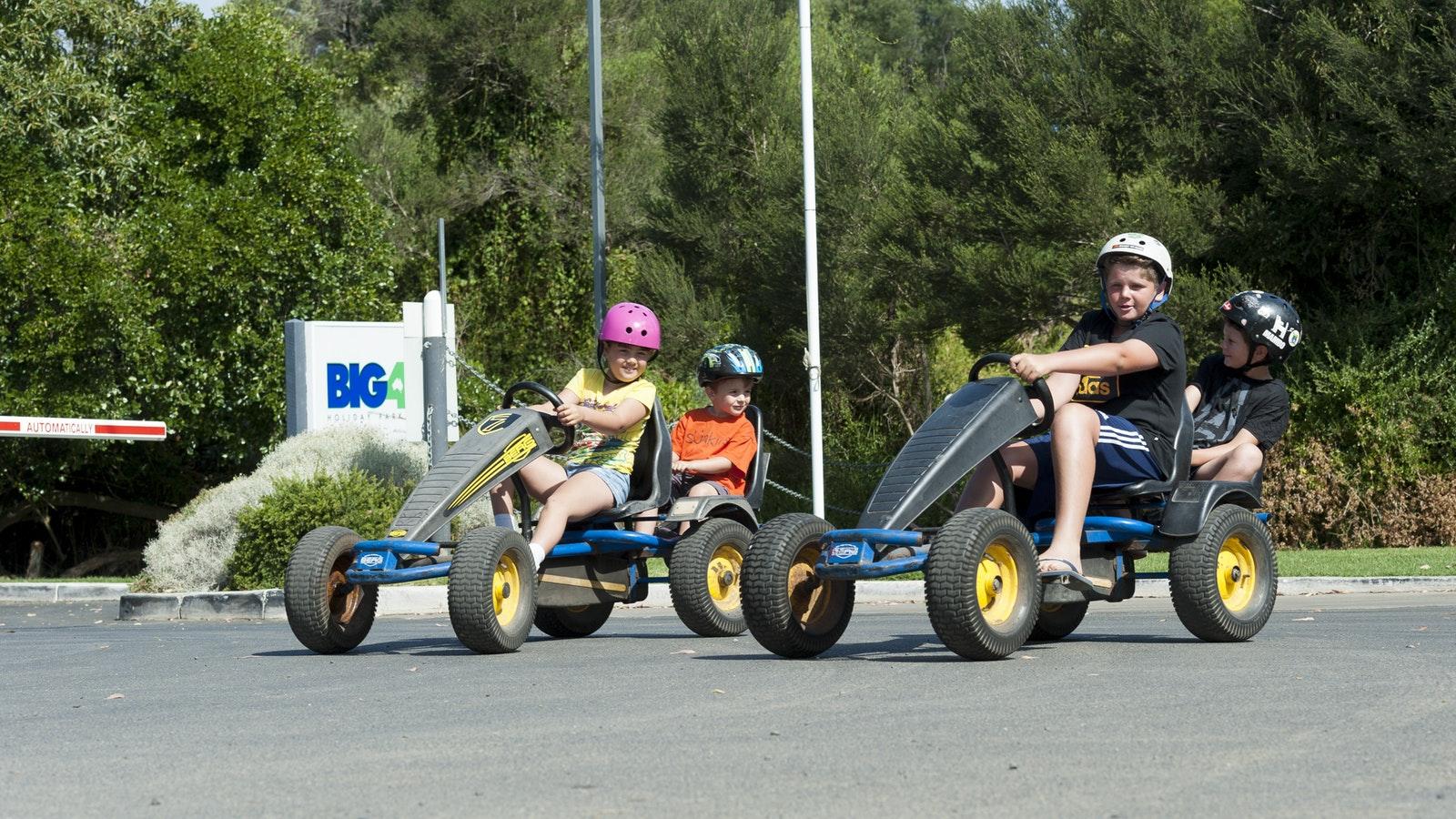 Phillip Island Caravan Park Buggies