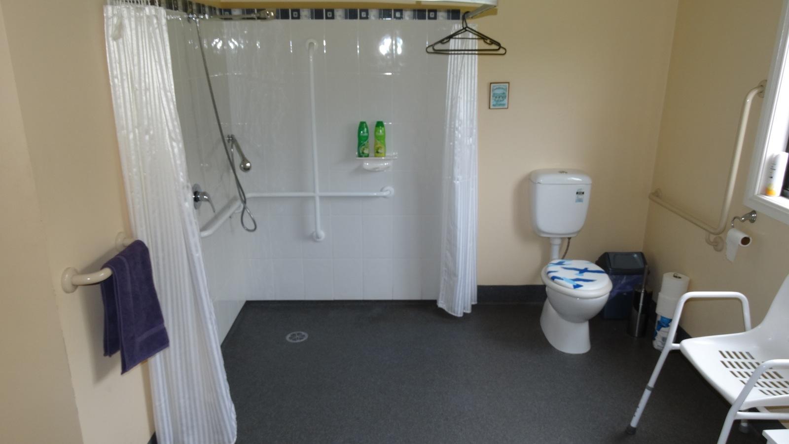 Fully accessible bathroom