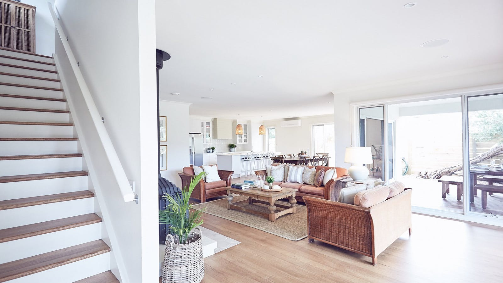 Verandah Retreat living room