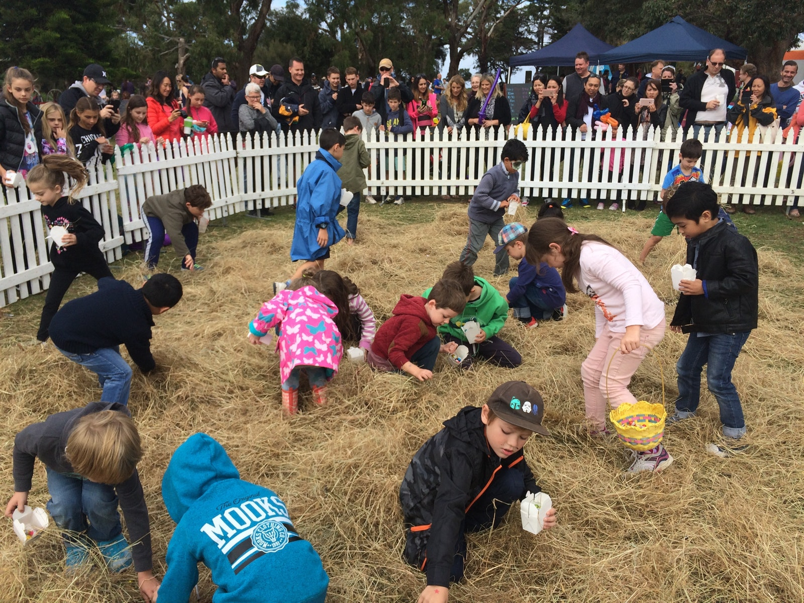 Easter egg Hunt - Churchill Island