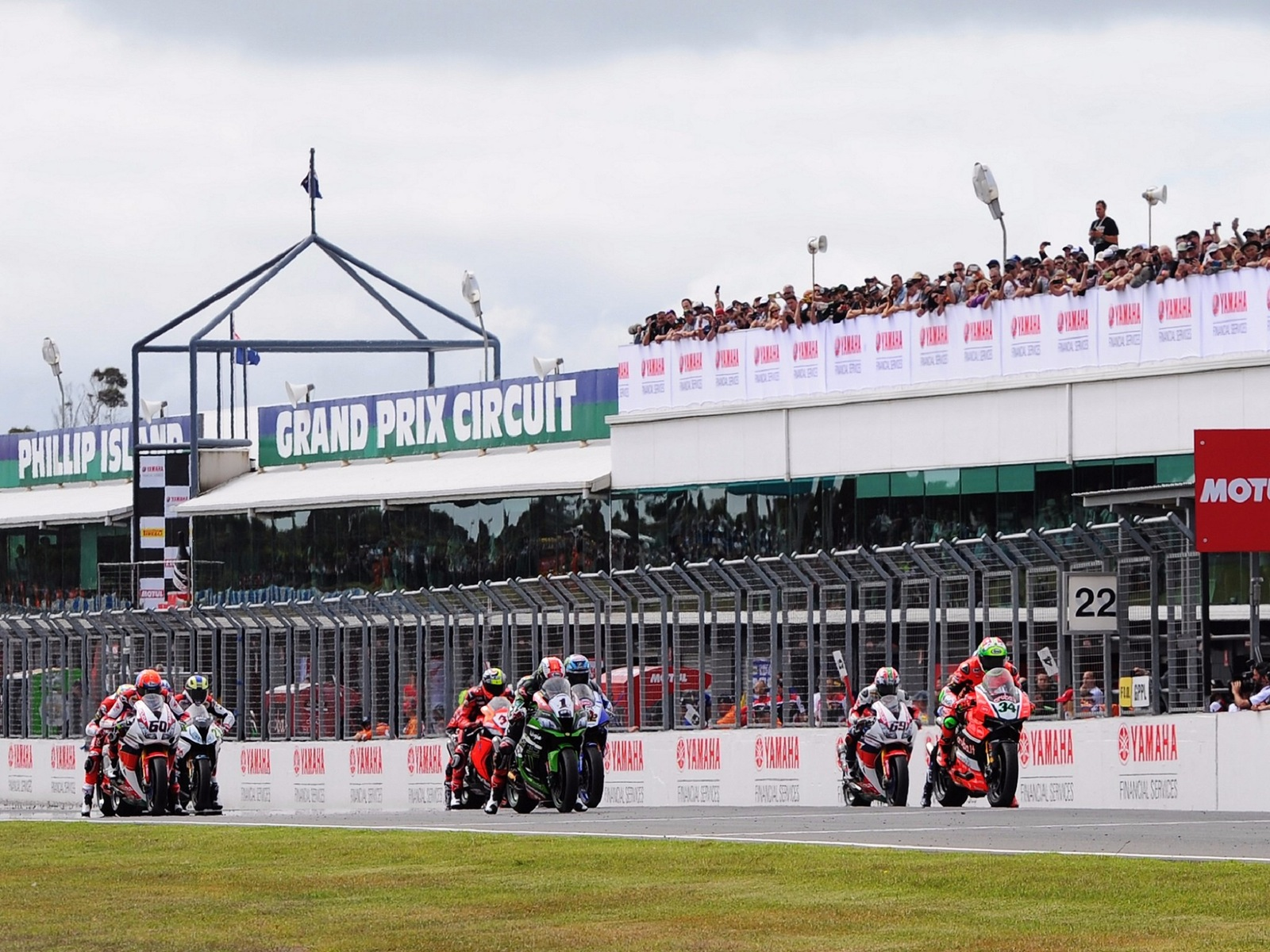 Phillip Island Grand Prix Circuit Start/Finish Line