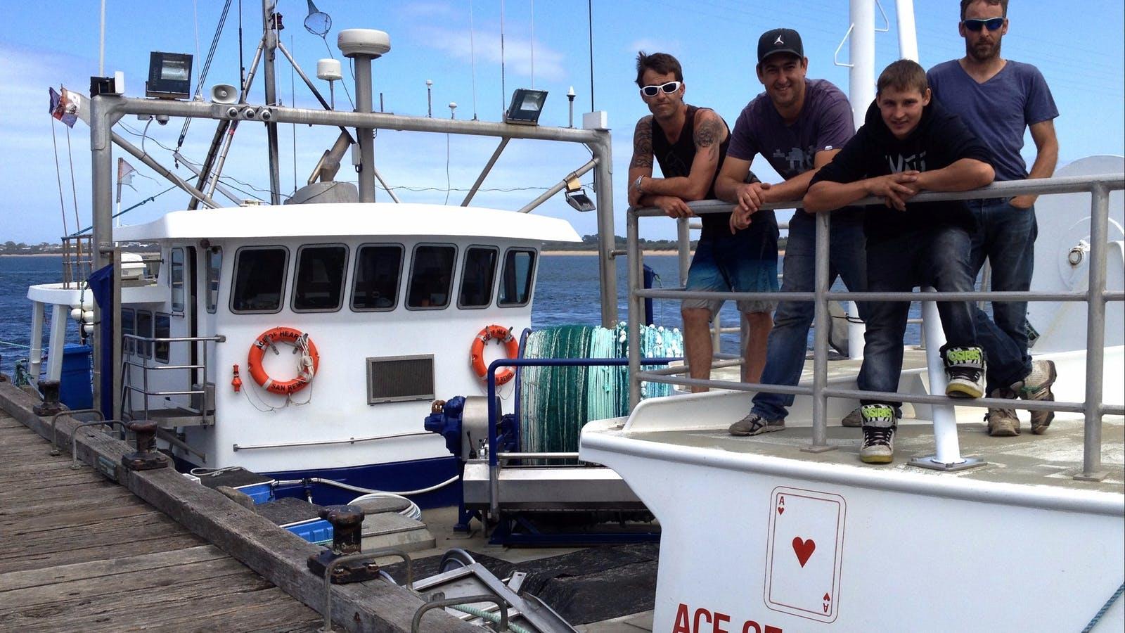 Intrepid San Remo shark fishermen