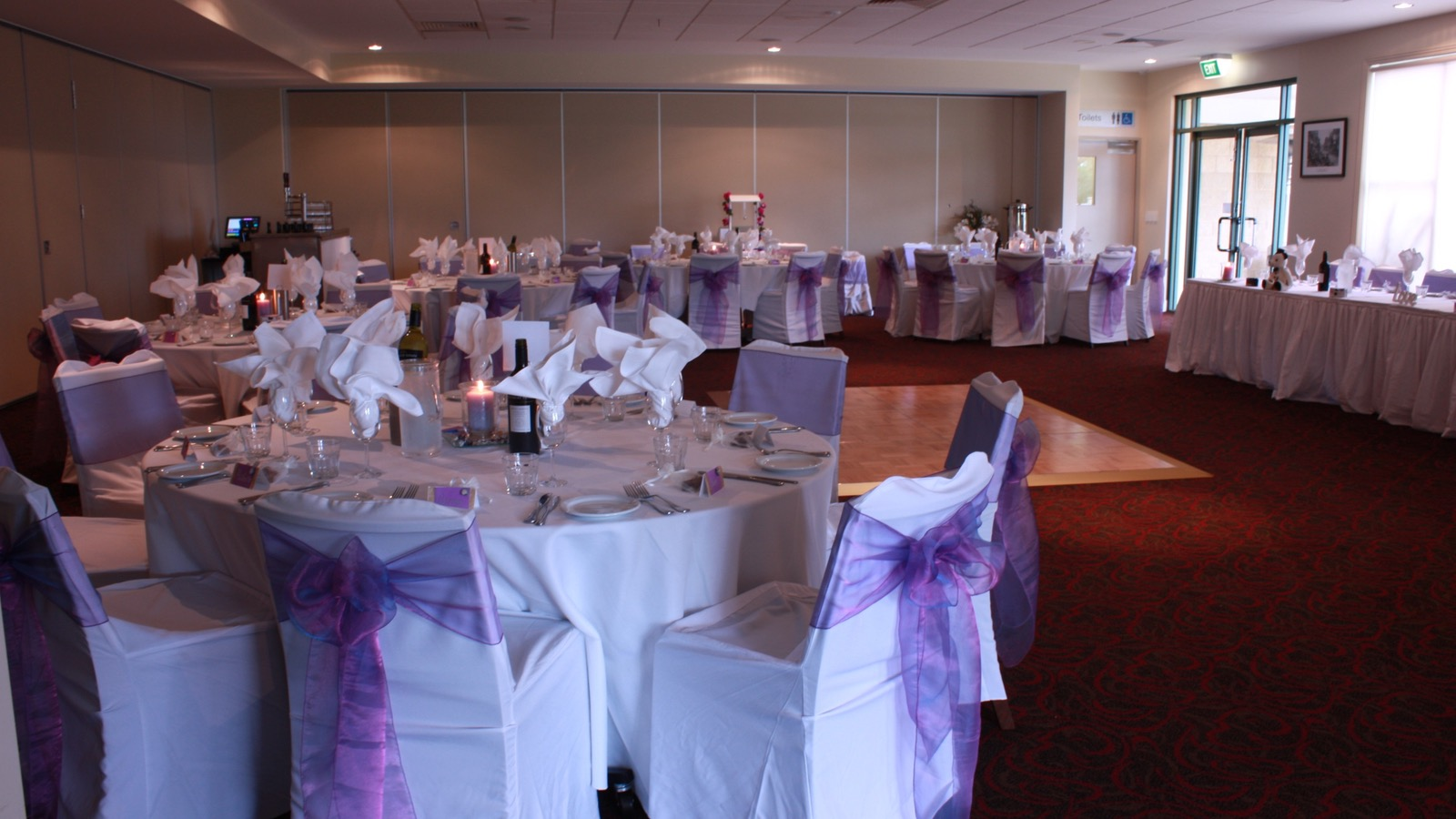 ANZAC Room - Ideal for weddings or any occasion