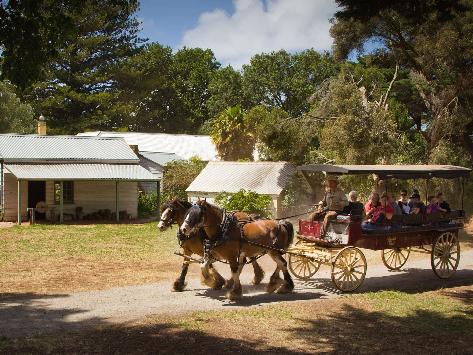 Churchill Island Heritage Farm - Wagon Rides