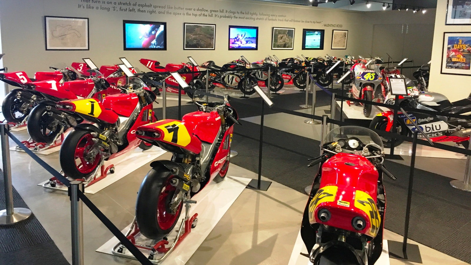 History of Motorsport Display