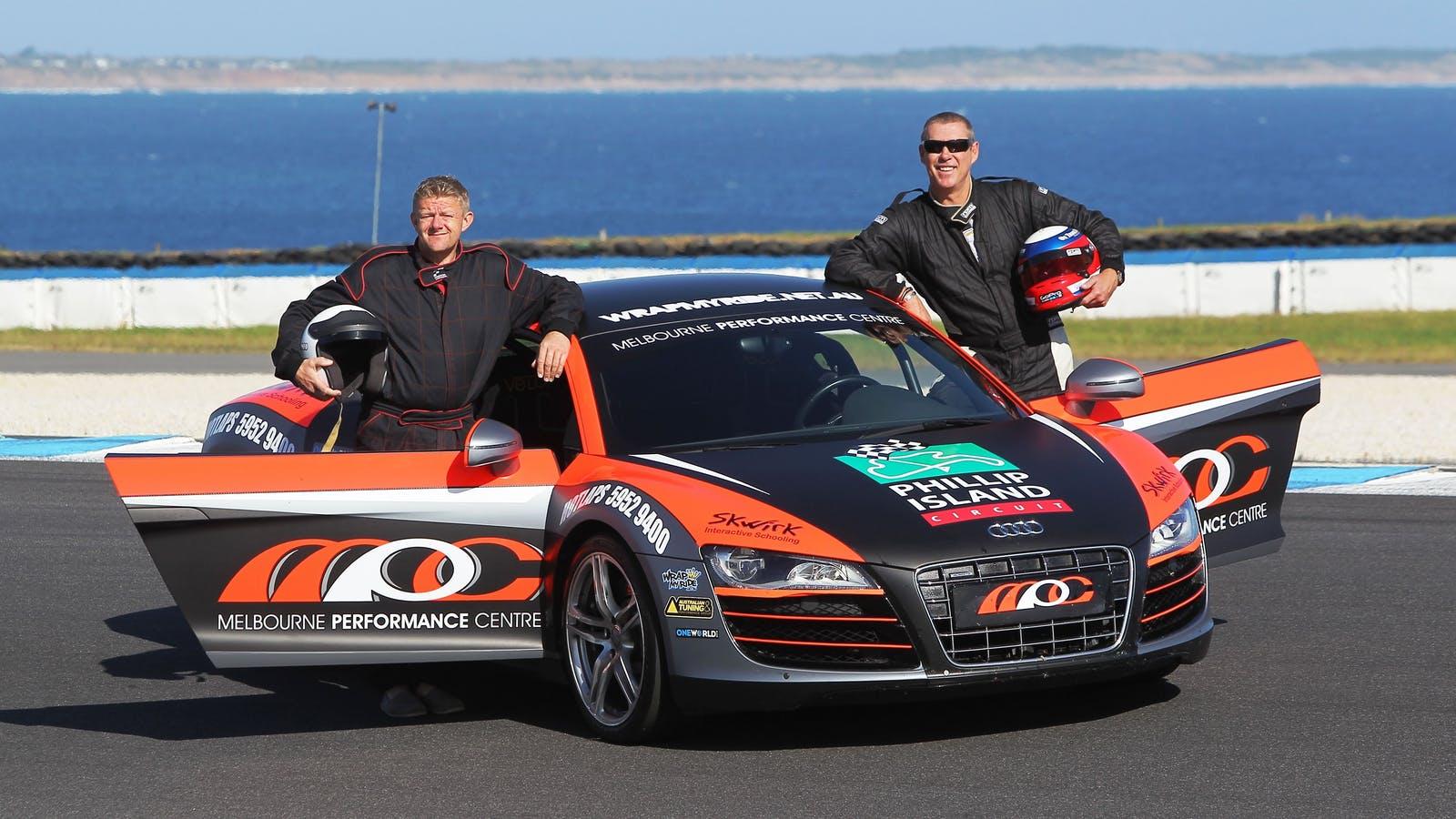 Audi Hot Lap Car