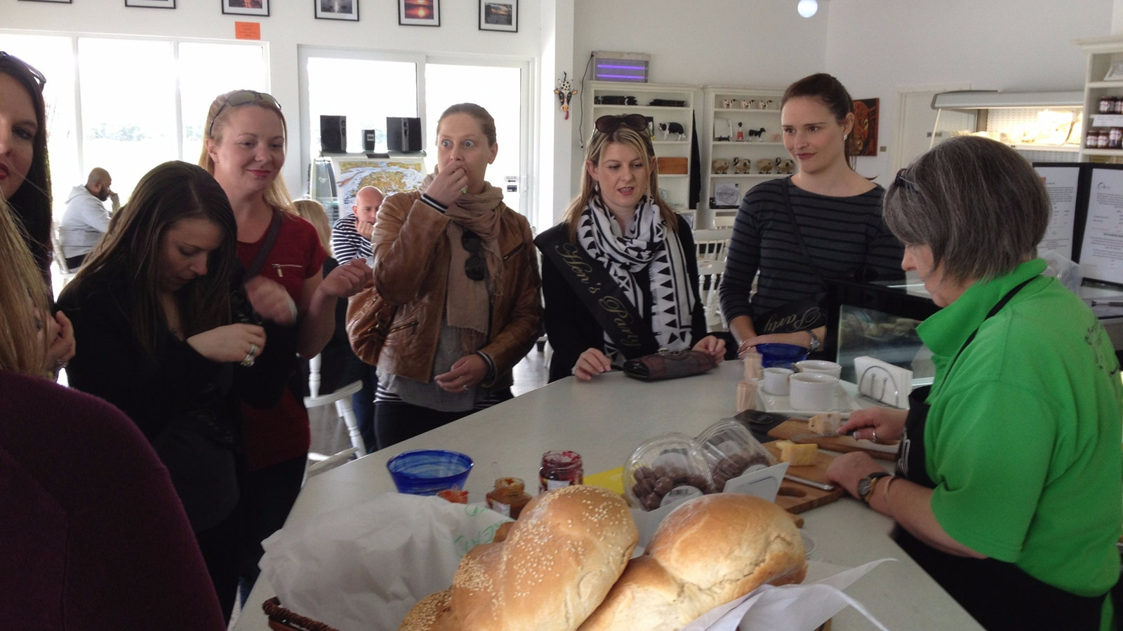 Cheese tasting at Bassine Speciality Cheeses