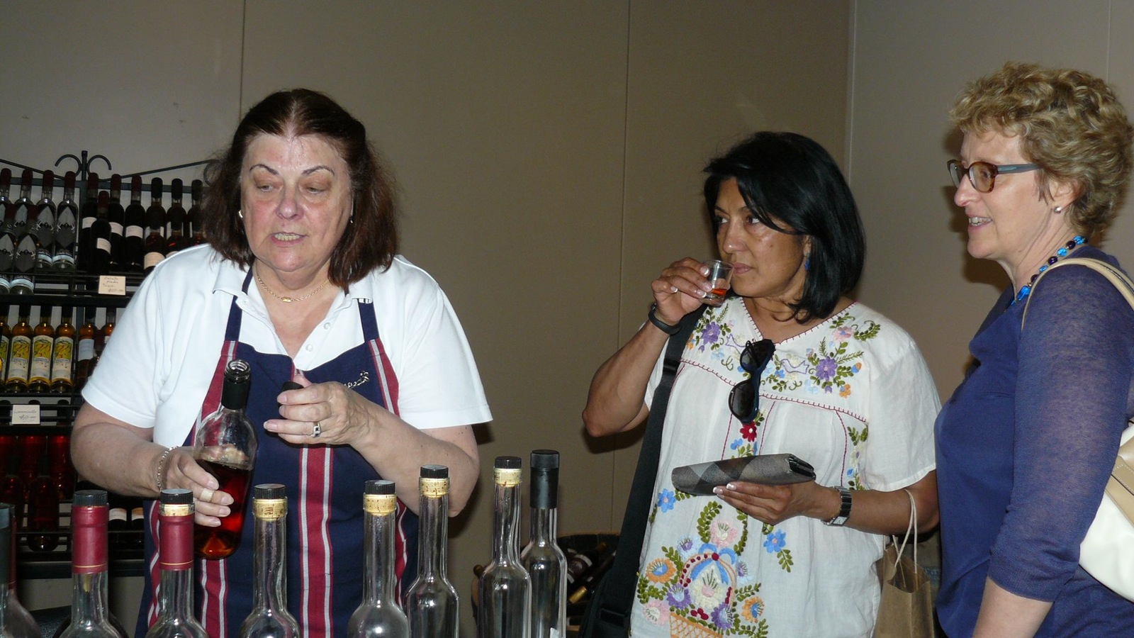 Grappa tasting - just for fun