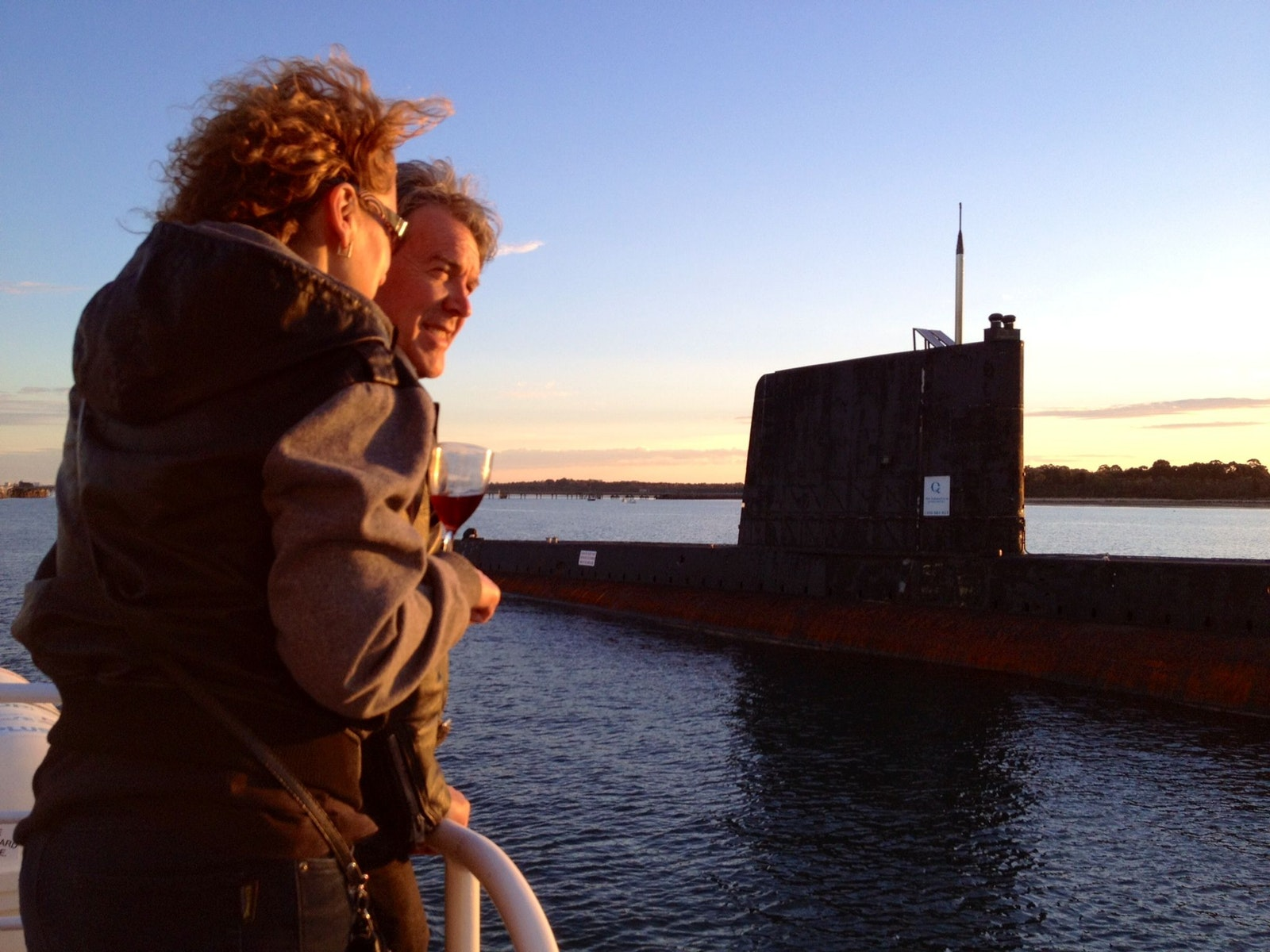 "Submarine ""Otama"" on Twilight Cruise"