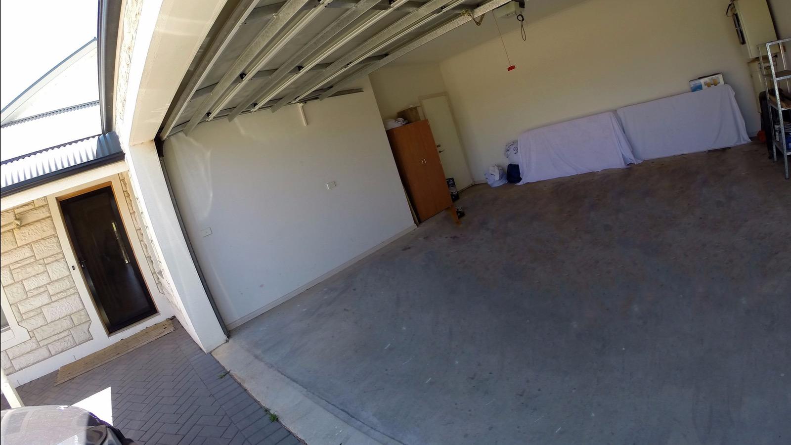 Double lock up garage