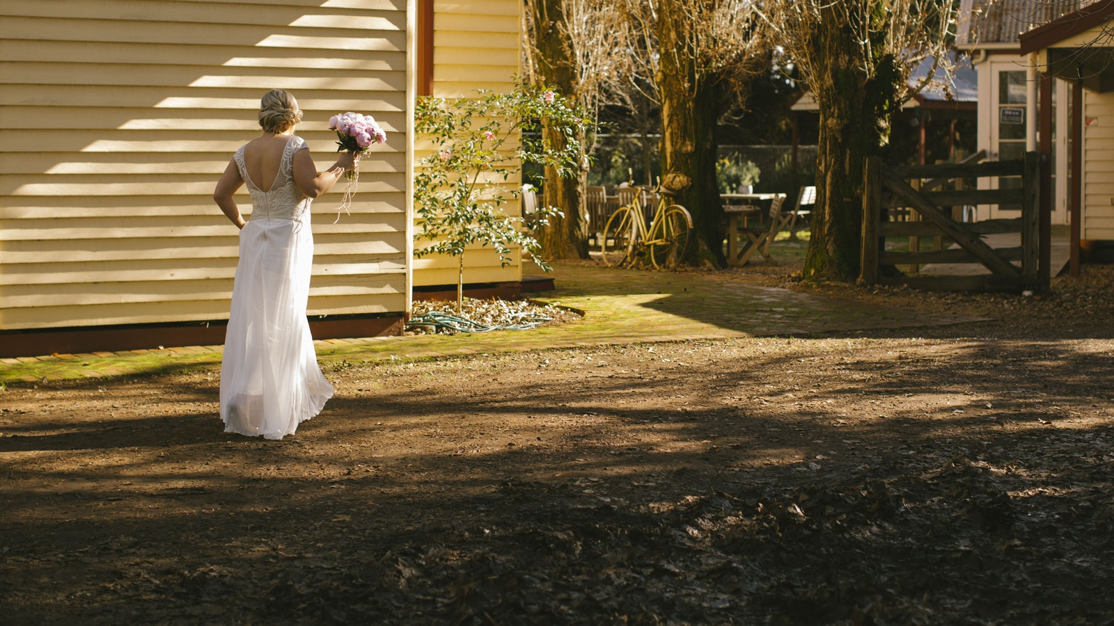 Plenty of lovely spaces for photos for our brides
