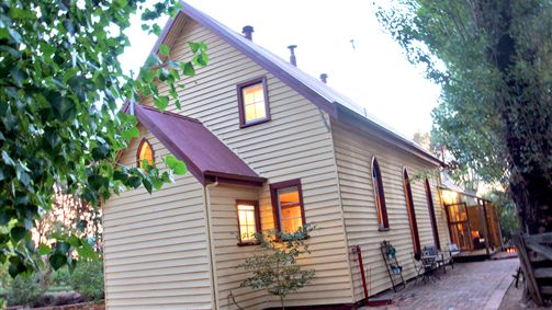The Churches is on a gorgeous rural property 5 minutes from the heart of Shepparton