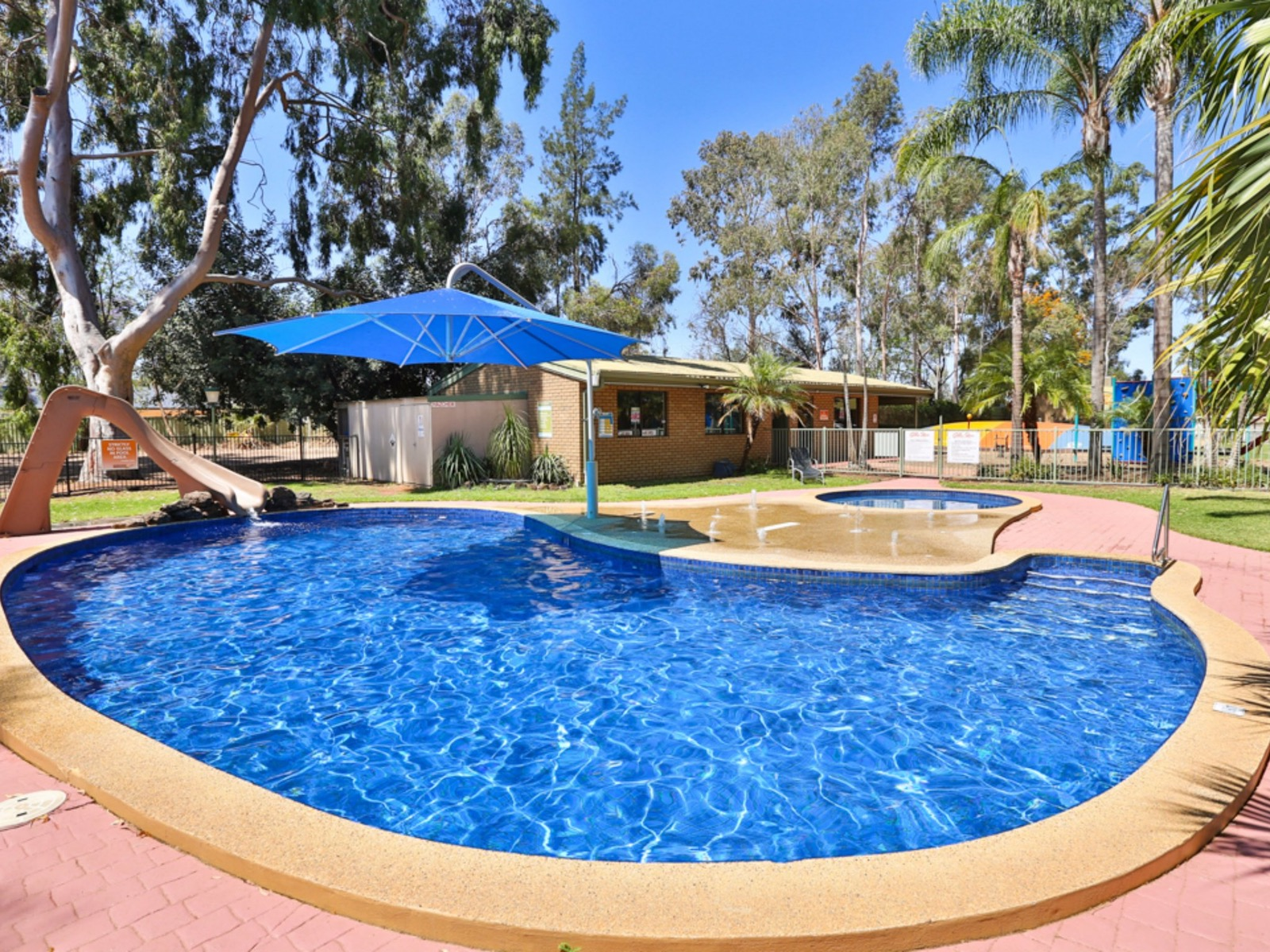 Lagoon Pool at BIG4 Golden River Holiday Park