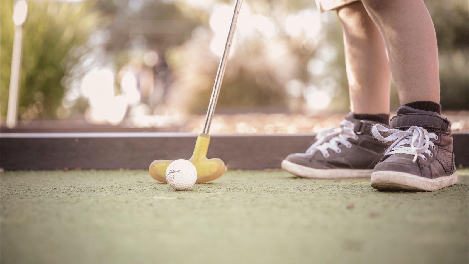 Mini Golf @ BIG4 Swan Hill