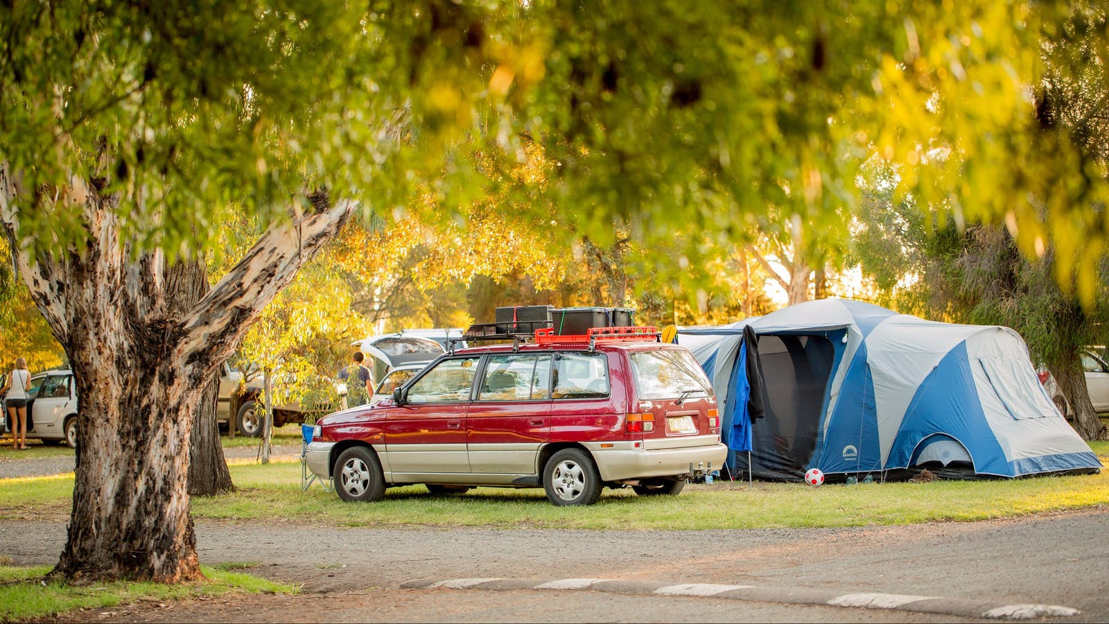 Secura Lifestyle Shepparton East camping