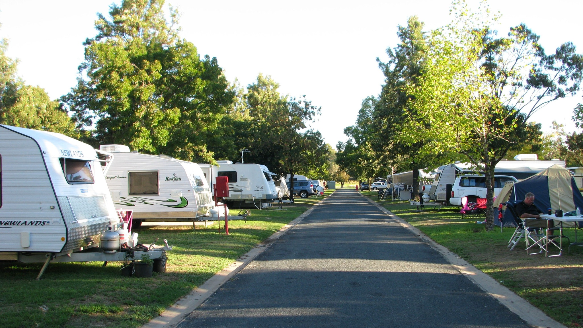 Some of the caravan sites