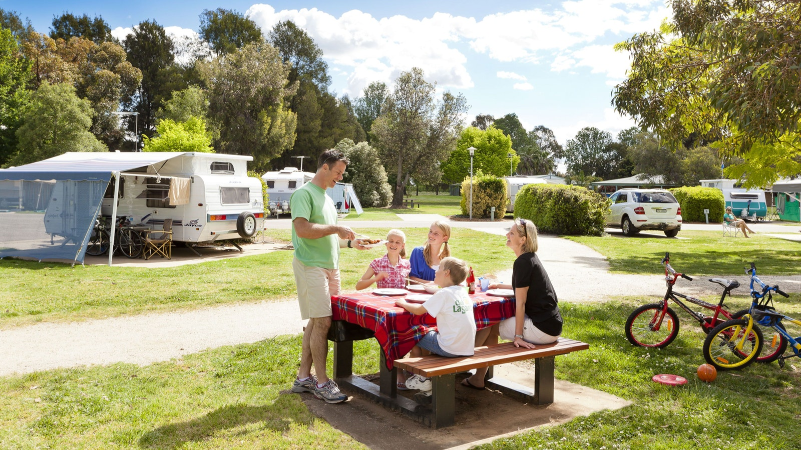 Picnic in the Caravan Park