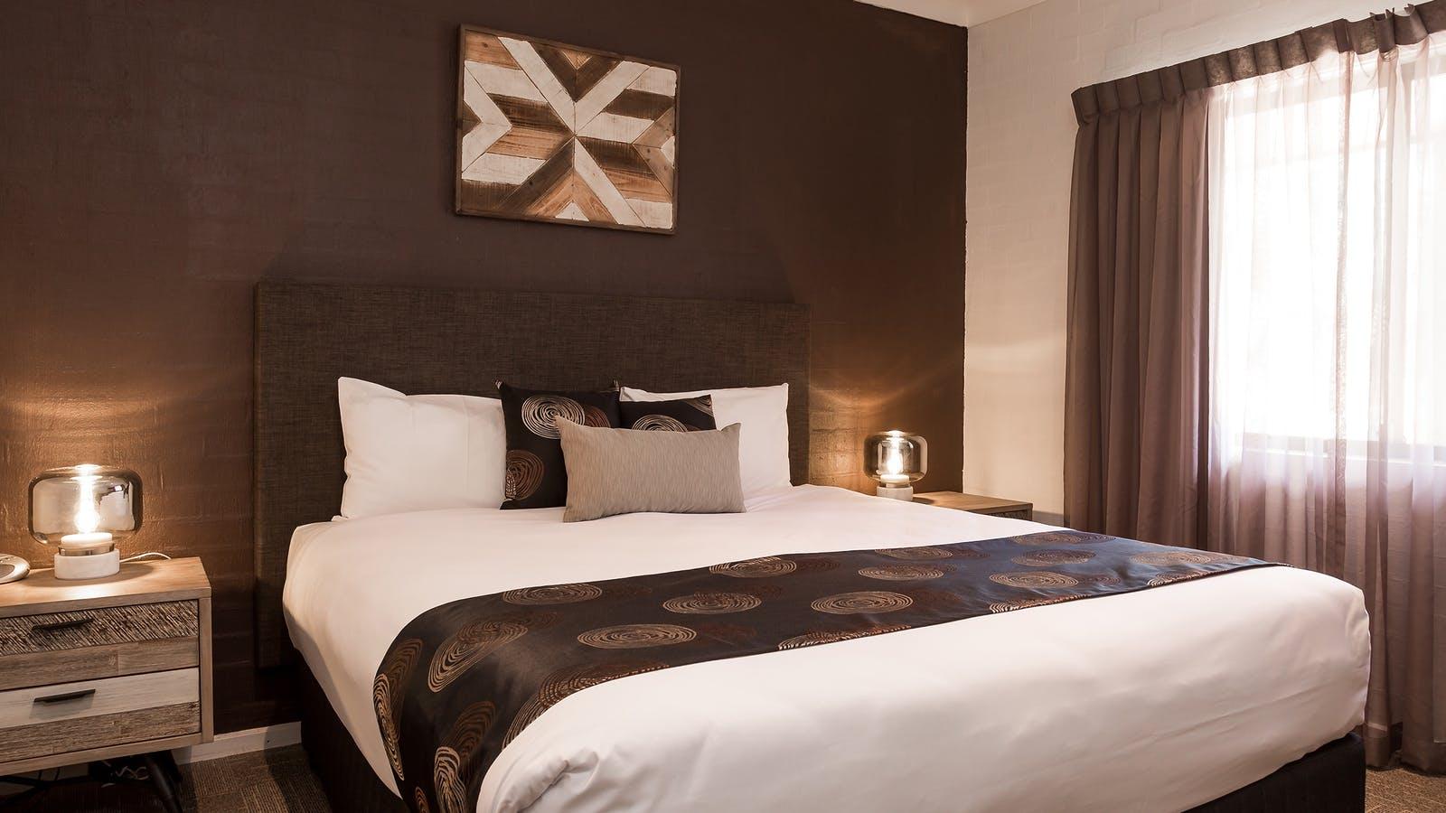 Luxury bedroom executive apartment